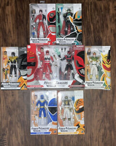 POWER RANGERS LIGHTING COLLECTION LOT!!!