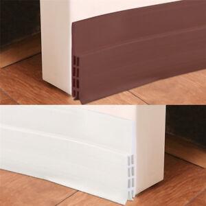 Details about Under Door Sweep Weather Stripping Door Bottom Seal Strip  Draft Wind Bug Stopper