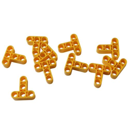 Liftarm 3 x 3 T-Shape Thick Yellow 10 NEW LEGO Technic