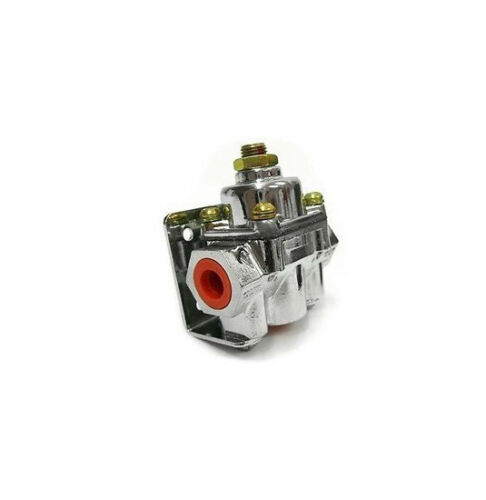 Chrome 4-9 PSI Adjustable Electric Fuel Pump Regulator street rod