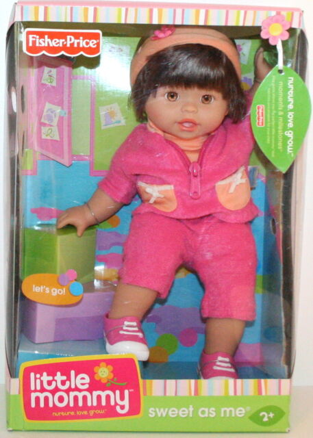 FISHER PRICE LITTLE MOMMY SWEET AS ME BIRTHDAY WISHES MUSIC /& LIGHTS *NEW*