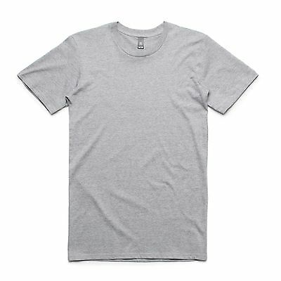 AS Colour 'Staple' Tee  |  Brand New Mens Blank T-Shirt in S - 5XL | Grey Marle
