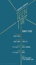 TEEN TOP [High Five] 2nd Album Ran ver] CD+1p Photo Book +1p PhotoCard Kpop Seal