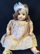 "Vintage Horesman 18"" Composition & Clothe Baby  Doll (Crier Does Not Work)"