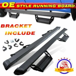 """Fit 2005-2021 Toyota Tacoma Double Cab 3"""" Running Board Side Step Hoop bar BCTA"""