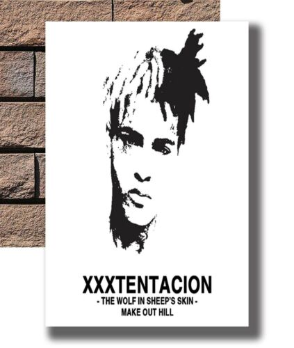 XXXTENTACION 1998-2018 Music Star Album Poster Fabric 8x12 20x30 24x36 E-3199