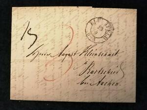 Vorphilatelie-Altdeutschland-Brief-Faltbrief-von-1846-Nr-8