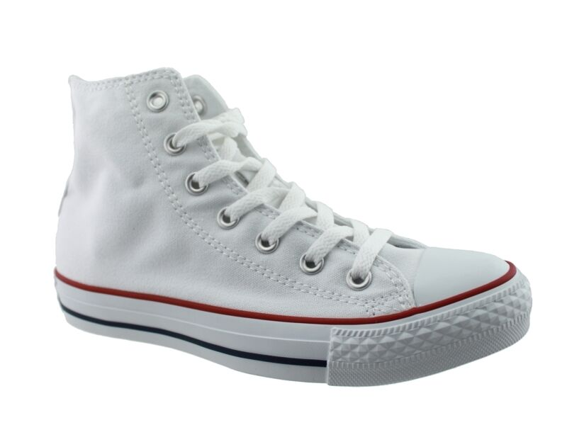 Zapatos promocionales para hombres y mujeres Converse All Star Chucks High Optical White M7650C