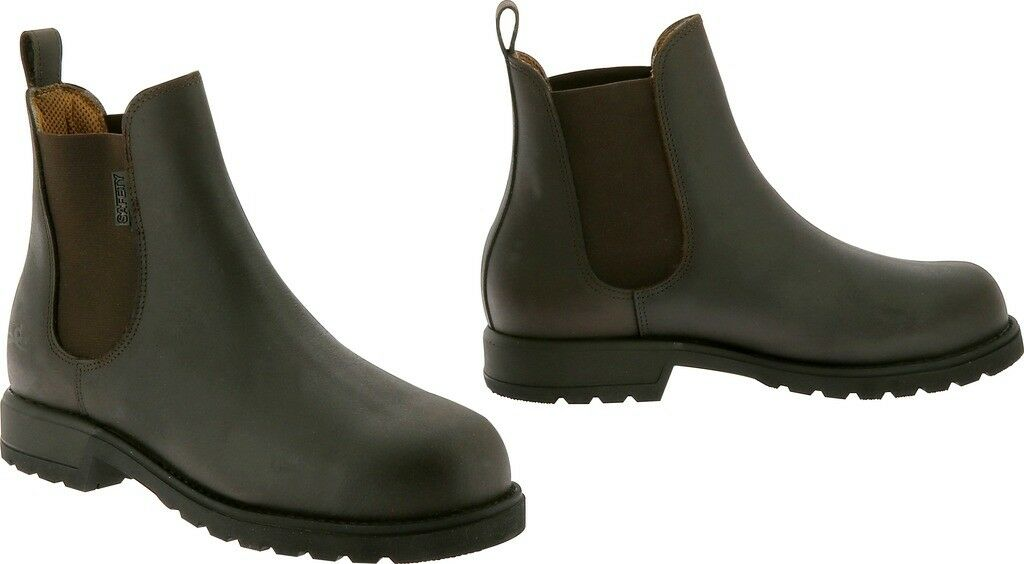 Equi Theme Safety Stiefel Water Repellent Outdoor Yard Stiefel Toe Cap ISO20345:2011