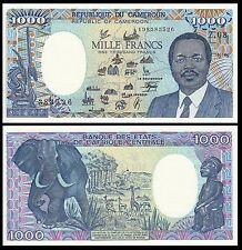 CAMEROUN / CAMEROON 1000 1,000 FRANCS 1990 P 26b UNC