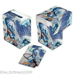 Kiora-the-Crashing-Wave-Planeswalker-ULTRA-PRO-DECK-BOX-CARD-BOX-FOR-MTG-CARDS