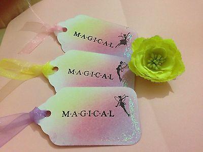 """""""fate Magiche's Gift/matrimonio Albero Tag, Set Di 10-"""