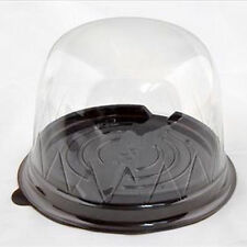25xClear Plastic Cupcake Cake Dome Favor Container Boxes Wedding Party Shower