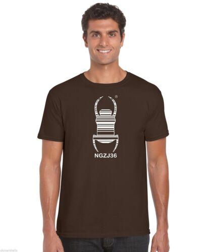 Géocache travel bug t shirt geocaching traçable-beaucoup de couleurs