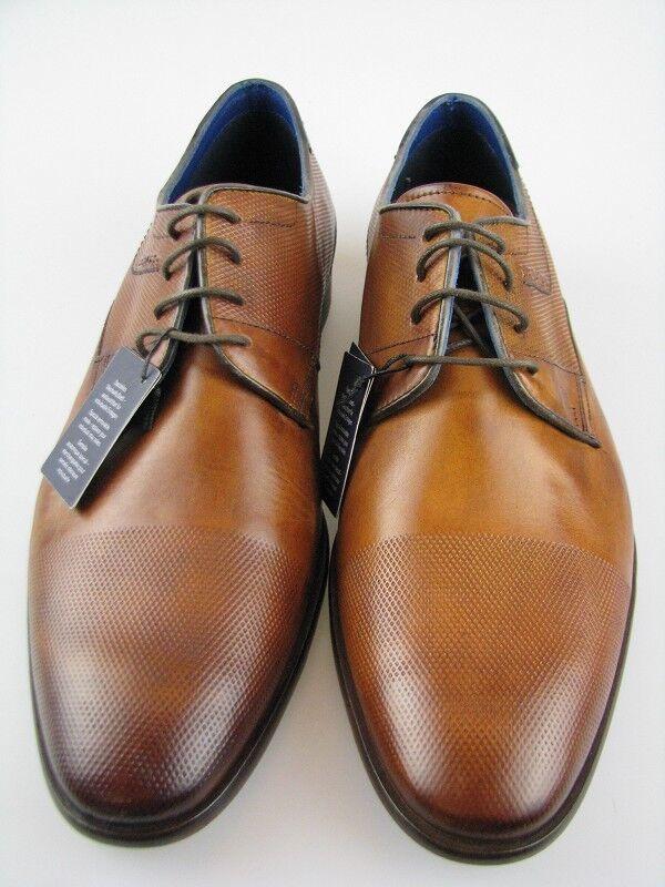 Daniel Hechter 811-21904 Business SCARPA IN PELLE COGNAC TG 42 Scarpe classiche da uomo