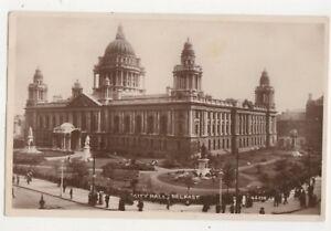 City-Hall-Belfast-Northern-Ireland-1928-RP-Postcard-744b