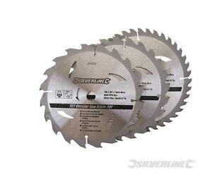 3 Lame Scie Circulaire 190 X 16 Mm Tct 20 24 40 Dent Bois Panneau Materiaux Tjzandti-07185252-389074418