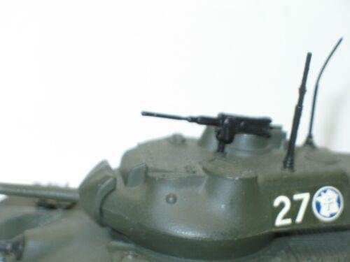 1 Maschinengewehr 12//7 für Panzer Patton Solido Militär