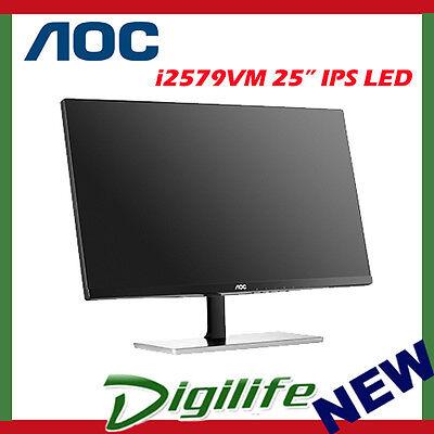 "AOC 25"" I2579VM IPS LED Full HD Monitor 5ms Slim VGA HDMI 1080P"