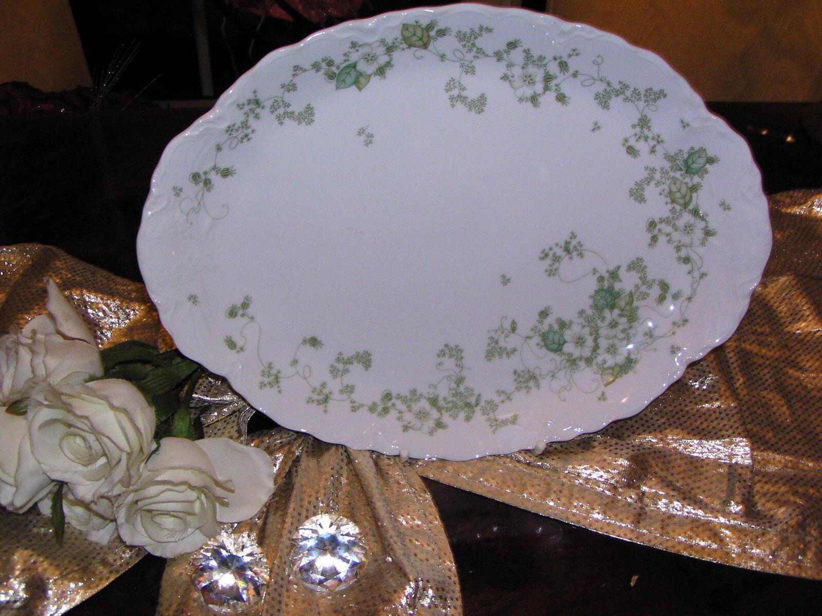 Edle große Platte Servierplatte 35 cm Hutschenreuther Racine Camargue top      Angemessener Preis