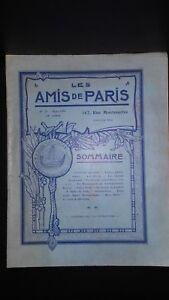 Revista Dibujada Las Amis De París N º 29 Mensual 1914 Gerente Claude Simond ABE