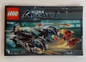 INSTRUCTIONS-ONLY-LEGO-70162-Ultra-Agents-manual-book-from-set