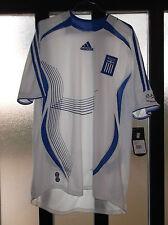 maglia shirt grecia greece no number nr adidas usata size L