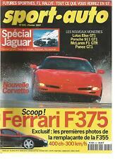 SPORT AUTO 1997 N° 421 FERRARI F375 LOTUS SPECIAL JAGUAR RALLY PARIS DAKAR