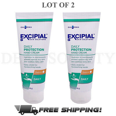 2 Excipial Daily Protection Daytime Hand Cream 3.5 Ounce for