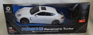 Braha Porsche Panamera 1:24 Scale R/C Radio Remote Control Car White Toy