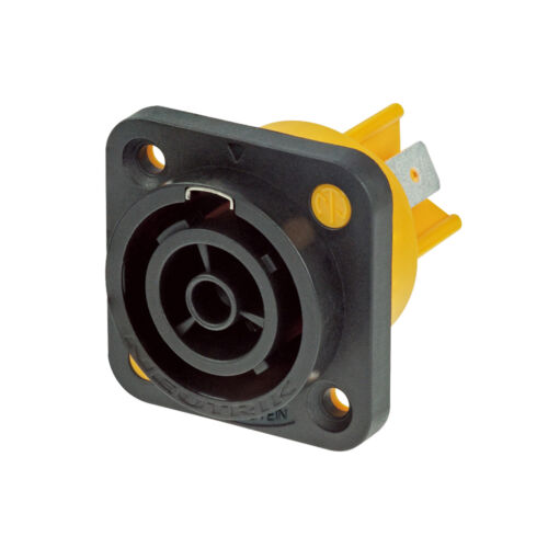 OUTPUT Neutrik PowerCON True1 Mains Power Chassis Connector Female NAC3FPX
