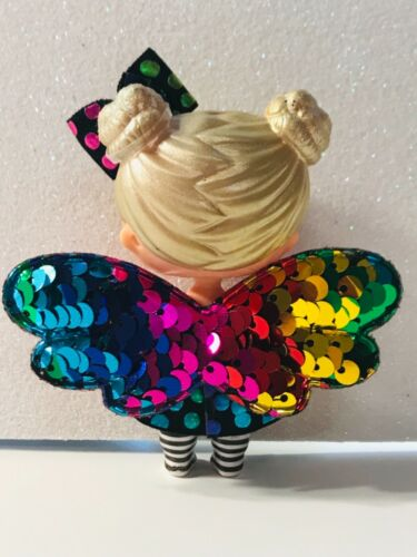 3 PC Custom LOL Surprise Accessories Bow Butterfly Angel Fairy Wing Clothes Lot