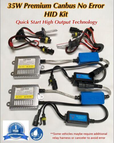 35W CANBUS AC XENON E1 FOG LIGHTS 6000K 880 899  HID Kit 04-15 FOR NISSAN TITAN