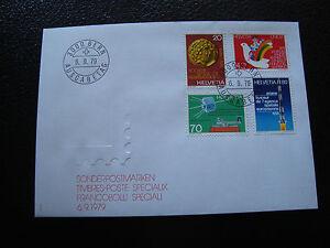 Switzerland-Envelope-1er-Day-6-9-1979-cy17-Switzerland