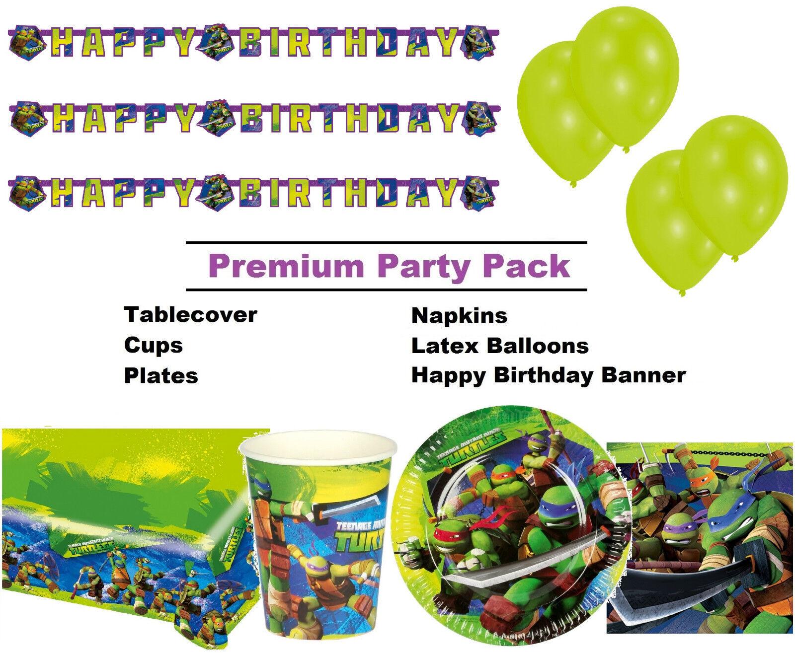 Teenage Mutant Ninja Turtles 8-48 Premium parti Premium 8-48 comHommes taires Pack-vaisselle d72b7c