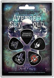 Avenged-Sevenfold-The-Scene-5-Plectre-Pack-Rz