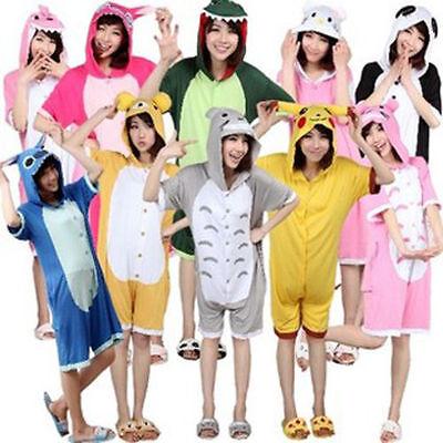 SUMMER UNISEX  Kigurumi Pajamas Anime Cosplay Sleepwear Various Style Onesi