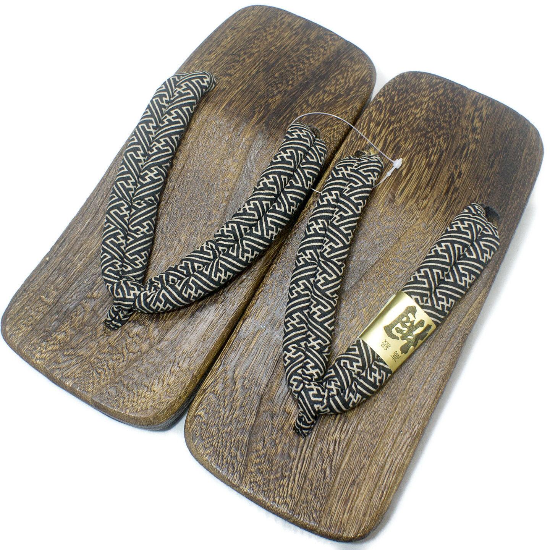 5f18c985581a51  Japan Made  Mens Geta Paulownia Wood Sandals Traditional 26cm