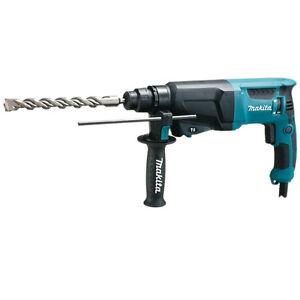 Makita-marteau-perforateur-HR-2630-dans-le-coffret-SDS-Plus-stutzpunkthandler