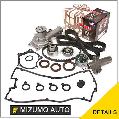 Fit 96-99 Mitsubishi Eagle TURBO Timing Belt Water Pump Kit Valve Cover 4G63T