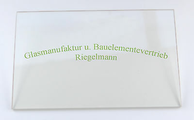 ROBAX®-Kaminglas, Ofenglas 20  x  20 cm  Dicke: 3 od. 4 od. 5 mm