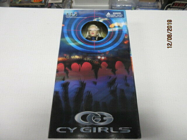 CY GIRLS FIGURE IN THE BOX 2000