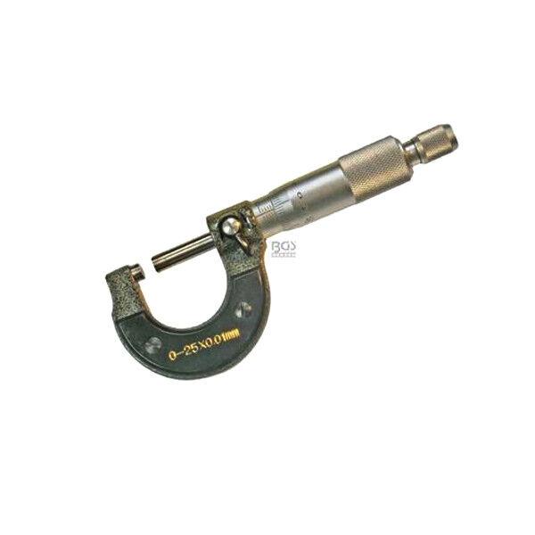 0,01mm Genauigkeit Mikrometer B/ügelmessschraube Messschraube 0-25 mm