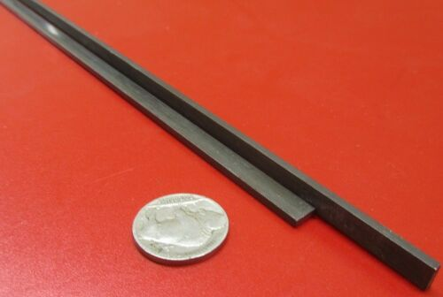 """2 Pieces W1 Tool Steel Bar  3//32/"""" Thick x 1//4/"""" Wide x 36/"""" Length"""