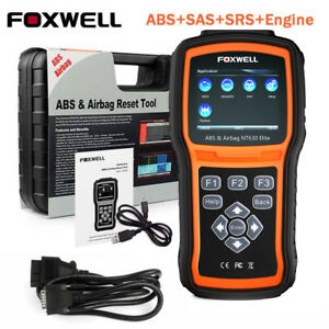Foxwell NT630 Automotive OBD2 Scanner ABS SRS SAS Airbag Reset Diagnostic Tool 611677793012