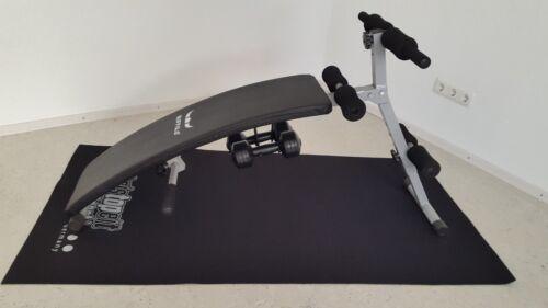 Bauchtrainer Buffalo Fitnessbank Bauchmuskeltraining Bauchmuskeltrainer gebrauch