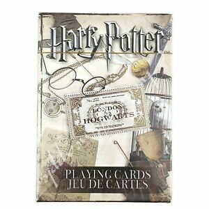 Harry-Potter-London-To-Hogwarts-52-Playing-Cards-Collection-New-In-Package