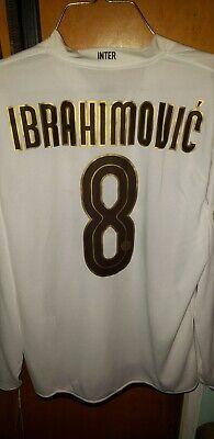 save off 424bf 27d71 Zlatan Ibrahimovic Long Sleeve Jersey 2008/09 Inter Milan ...