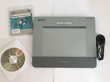 Smart Slate WS200 Wireless Bluetooth Graphic Tablet Pad PTL-831B/01 -New -No Pen
