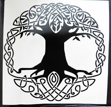 Celtic Tree Of LIfe gods myths Magic stickers/car/van/bumper/window/decal 5208bk